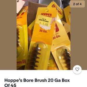Hopps bore brush box of 45 20 ga or 45